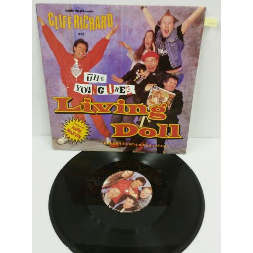 CLIFF RICHARD AND THE YOUNG ONES FEATURING HANK MARVIN living doll, YZ65T