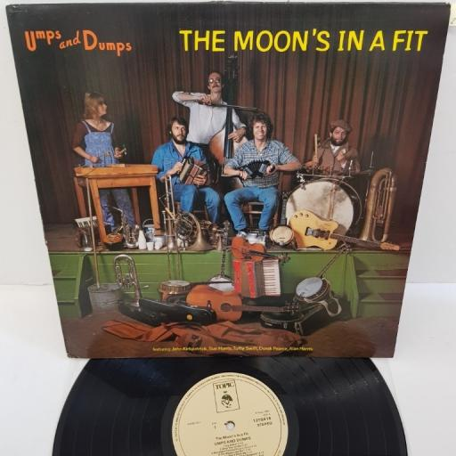"UMPS AND DUMPS, the moon's in a fit, 12TS416, 12"" LP"