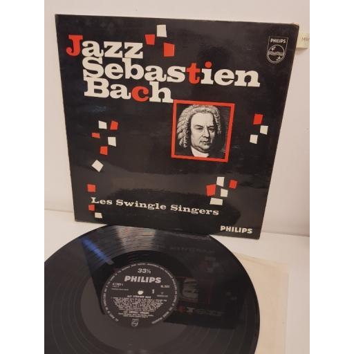 "LES SWINGLE SINGERS, jazz sebastian bach, BL 7572, 12"" LP"