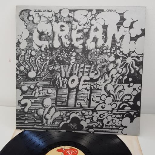 "CREAM wheels of fire, in the studio, 12""LP, 2394-136"