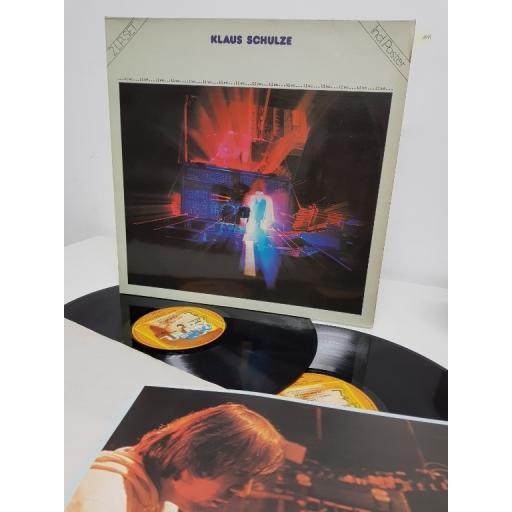 """KLAUS SCHULZE, ...live...,0080.048, 2x12"""" LP"""