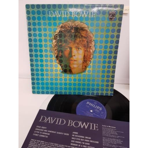 """DAVID BOWIE, david bowie, PDS 339, 12"""" LP"""