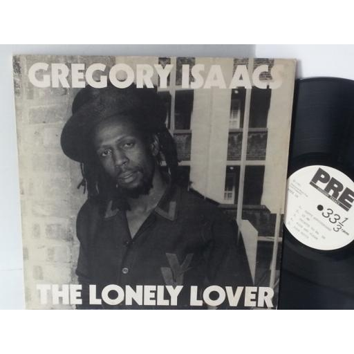 GREGORY ISAACS the lonely lover, PRE X 1