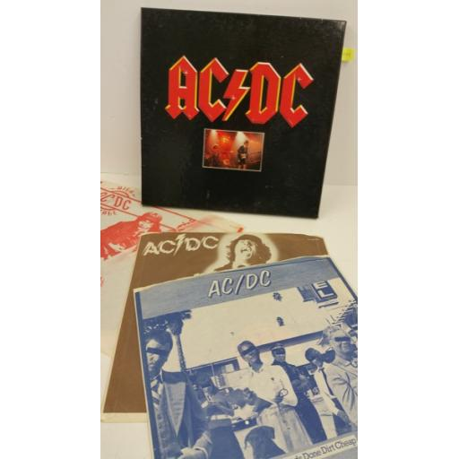 AC/DC 3 record set, boxset, 3 x lp, 60149