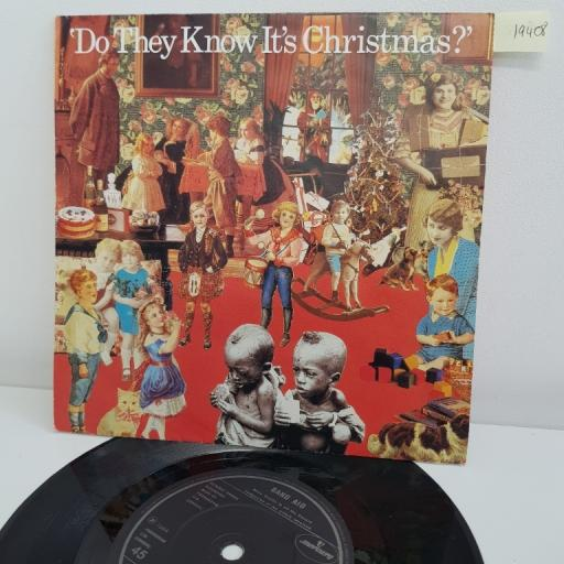 "BAND AID, do they know it's christmas?, B side feed the world, FEED 1, 7"" single"