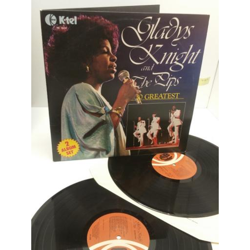 GLADYS KNIGHT AND THE PIPS 30 greatest, NE 1004