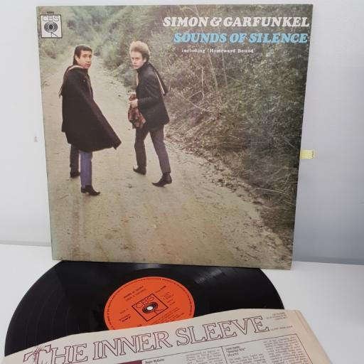 "SIMON AND GARFUNKEL, sounds of silence, including 'homeward bound', 12"" LP, 62690"