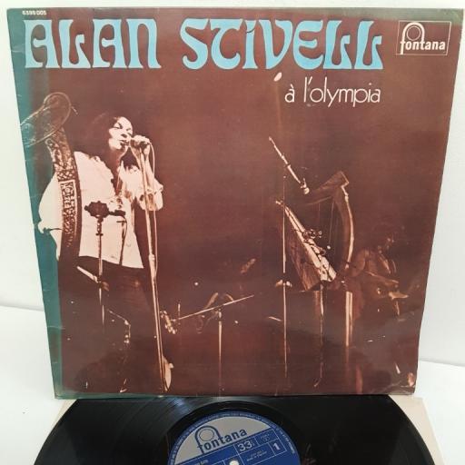"""ALAN STIVELL, A L'Olympia, 6399 005, 12"""" LP"""