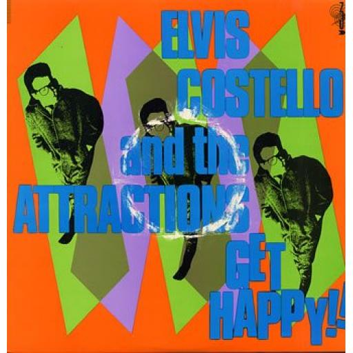 Elvis Costello Get Happy XXLP1