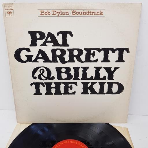 "BOB DYLAN, pat garrett & billy the kid, KC 32460, 12"" LP"