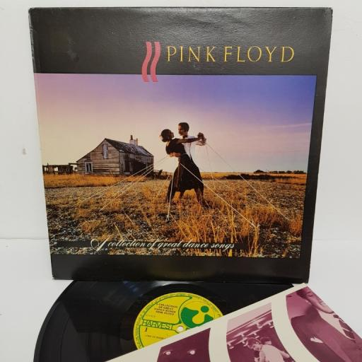 """PINK FLOYD, a collection of great dance songs, 14C 064-07575, 12"""" LP"""