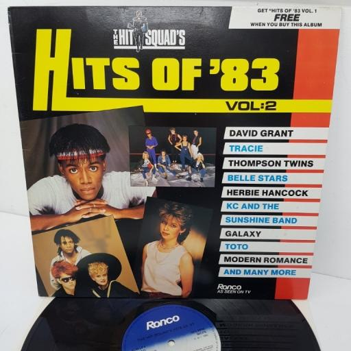 HITS OF '83 VOL. 2, RON LP4-B, 12 inch LP, compilation