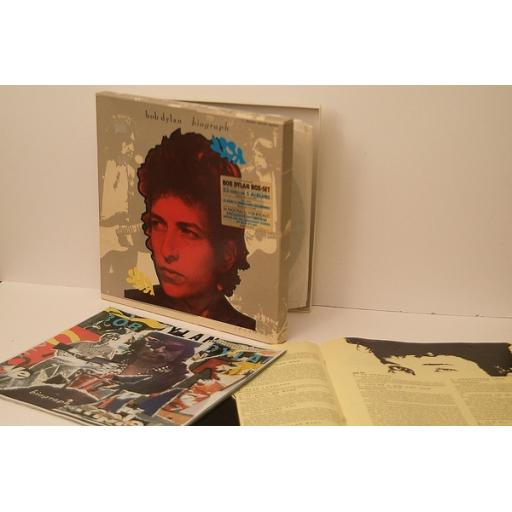 BOB DYLAN, The ultimate Bob Dylan. 5 ALBUM BOX SET WITH 2 BOOKLETS. Top copy....