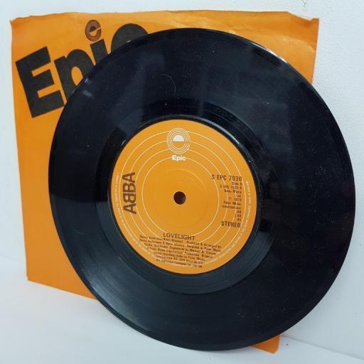"""ABBA, chiquitita, B side lovelight, S EPC 7030, 7"""" single"""