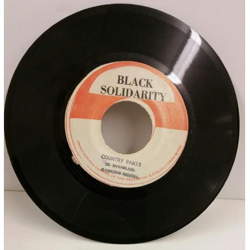 RANKING DEVON country party, 7 inch single