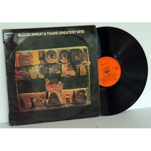 BLOOD SWEAT & TEARS, Greatest hits.