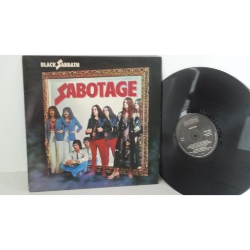 BLACK SABBATH sabotage, NEL 6018