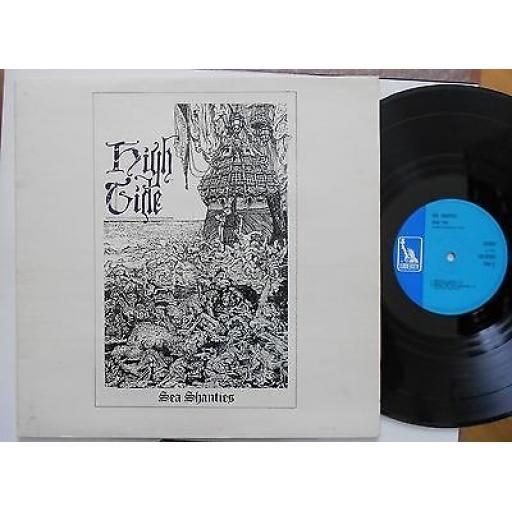 "HIGH TIDE, sea shanties, LBS 83264, 12"" LP"