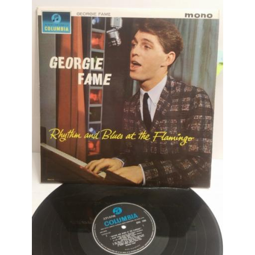 GEORGIE FAME rhythm and blues at the flamingo 33SX1599