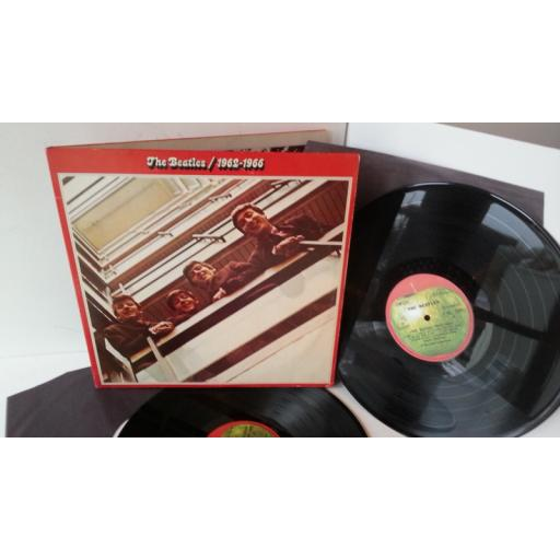 THE BEATLES 1962-1966, gatefold, double album, C 188 05307/8