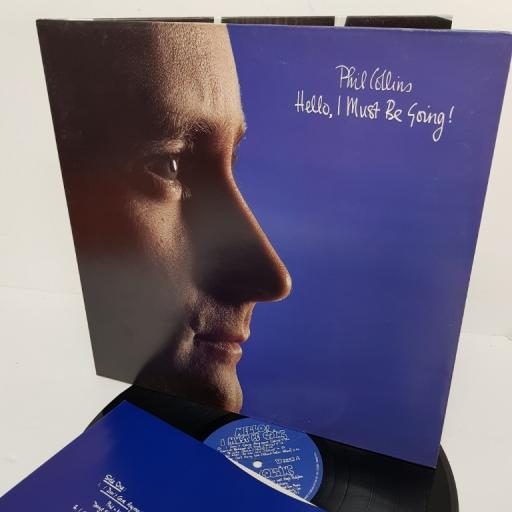 """PHIL COLLINS, hello, I must be going!, V 2252, 12"""" LP"""