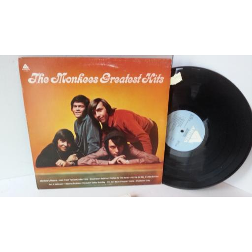 THE MONKEES greatest hits, AL 4089