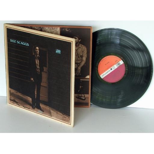 BOZ SCAGGS, Boz Scaggs Purple and plum label. First UK pressing 1969. Atlantic