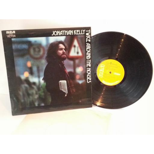 Jonathan Kelly TWICE AROUND THE HOUSE. First UK pressing 1972