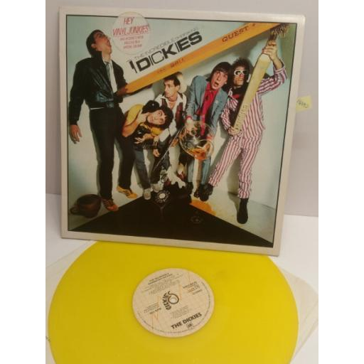 THE DICKIES the incredible shrinking dickies AMLE64742 YELLOW VINYL