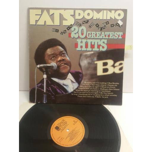 FATS DOMINO 20 greatest hits BT555004