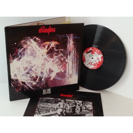 THE STRANGLERS all live and all of the night, gatefold, 460259 1