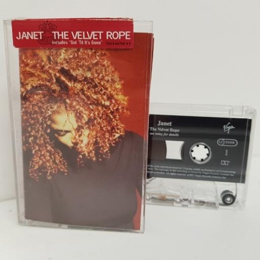 JANET, the velvet rope, TCV 2860, Cassette