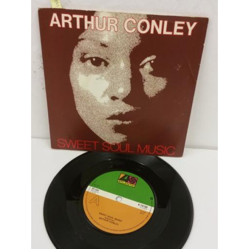 ARTHUR CONLEY sweet soul music / let's go steady, 7 inch single, K 10108