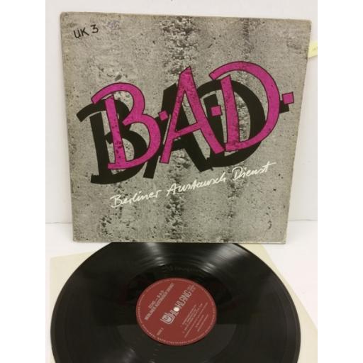 B-A-D echo, UK 3