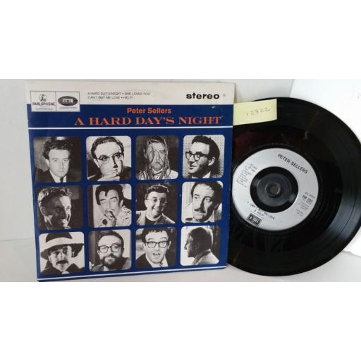 PETER SELLERS a hard day's night, 7 inch single, EM 293