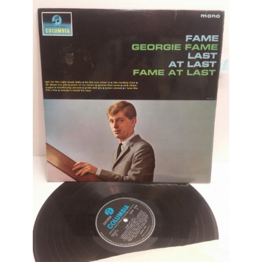 GEORGIE FAME fame at last 33SX1638