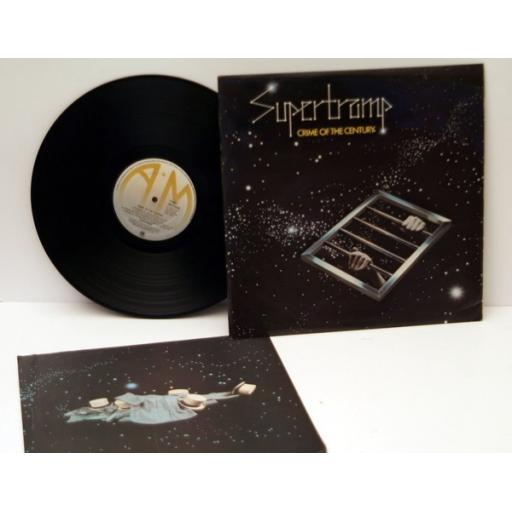 SUPERTRAMP, Crime of the century Top copy. 1974.