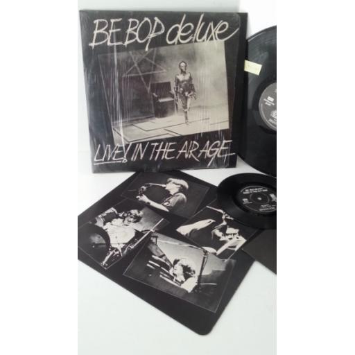 BE BOP DE LUXE live! in the air age, includes 7 inch single, SHVL 816