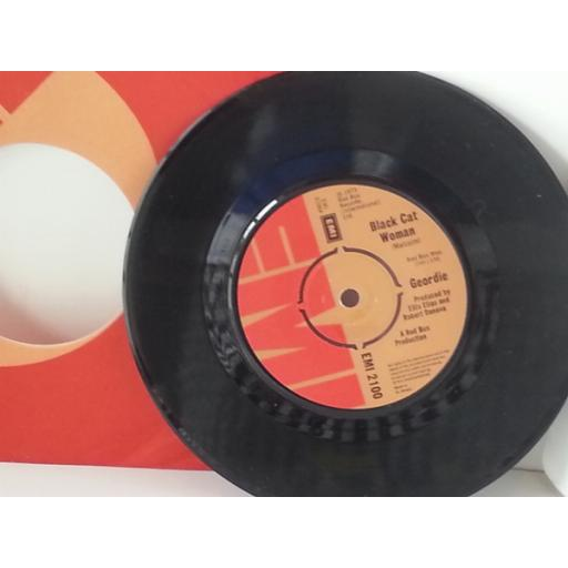 GEORDIE black cat woman, 7 inch single, EMI 2100
