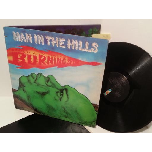 BURNING SPEAR man in the hills, gatefold, ILPS 9412