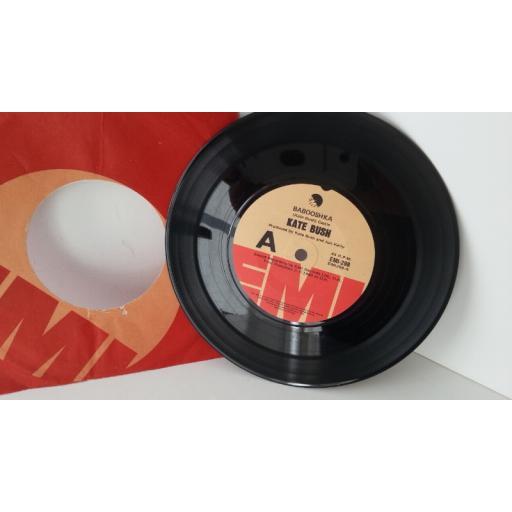 KATE BUSH babooshka, 7 inch single, EMI 298
