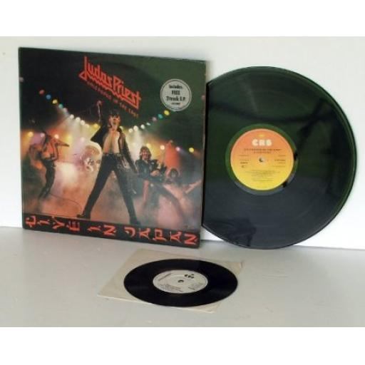 JUDAS PRIEST, unleashed in the east Includes 3 track EP single. First UK pres...