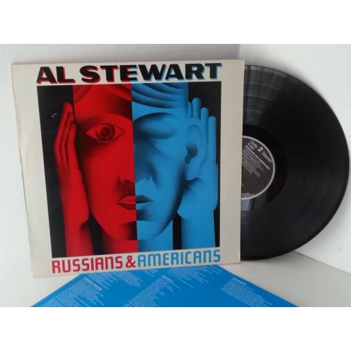 AL STEWART russians and americans, PL 70307