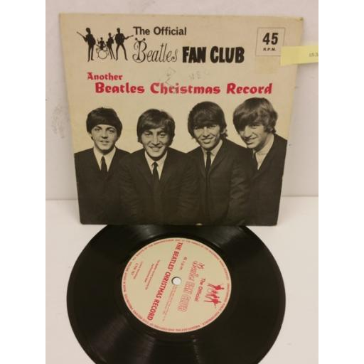 THE BEATLES another beatles' christmas record, 7 inch flexi disc, LYN 757