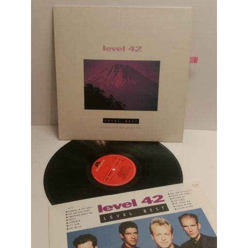 LEVEL 42 level best a collection of their greatest hits LEVTV-1