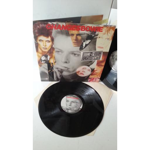 DAVID BOWIE changesbowie, gatefold, 2 x vinyl, DBTV 1