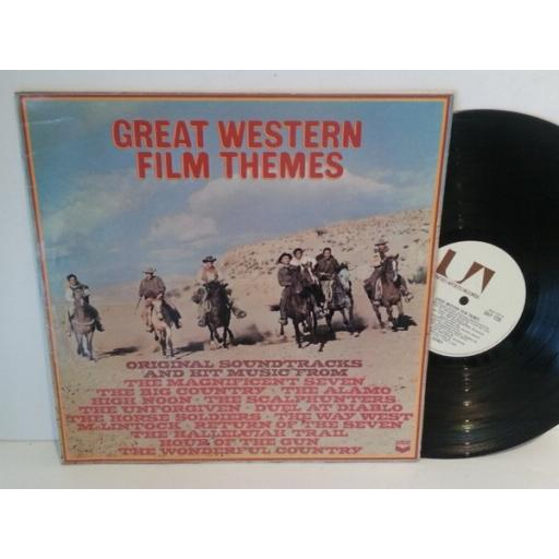 GREAT WESTERN FILM THEMES