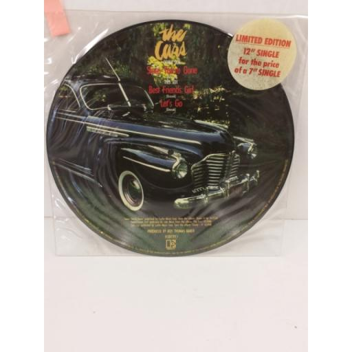 THE CARS since you're gone, 12 inch single, picture disc, limited edition, K 13177 PT