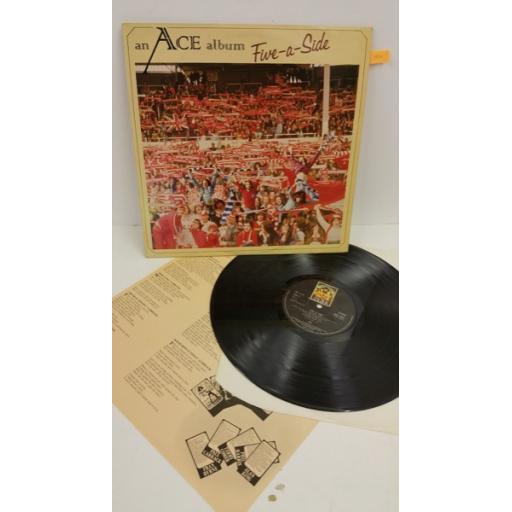 ACE five-a-side, lyric insert, ANCL 2001