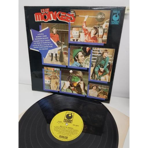 "THE MONKEES, best of the monkees, SPR 90032, 12"" LP"
